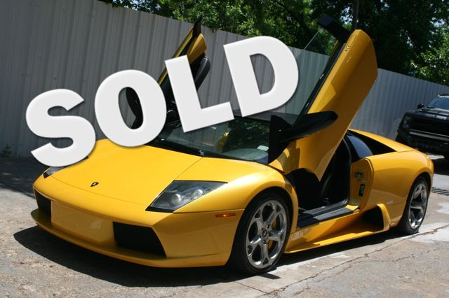 2005 Lamborghini Murcielago Roadster Houston, Texas 1