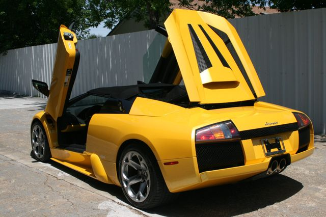 2005 Lamborghini Murcielago Roadster Houston, Texas 8