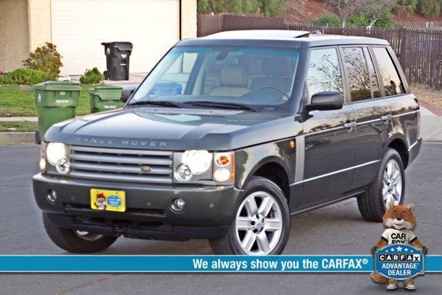 2005 Land Rover RANGE ROVER LUXURY HSE NAVIGATION ONLY 85K MLS SERVICE RECORDS XLNT CONDITION! Woodland Hills, CA 0