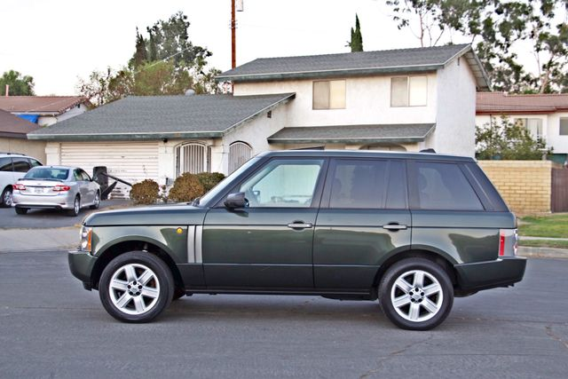2005 Land Rover RANGE ROVER LUXURY HSE NAVIGATION ONLY 85K MLS SERVICE RECORDS XLNT CONDITION! Woodland Hills, CA 2