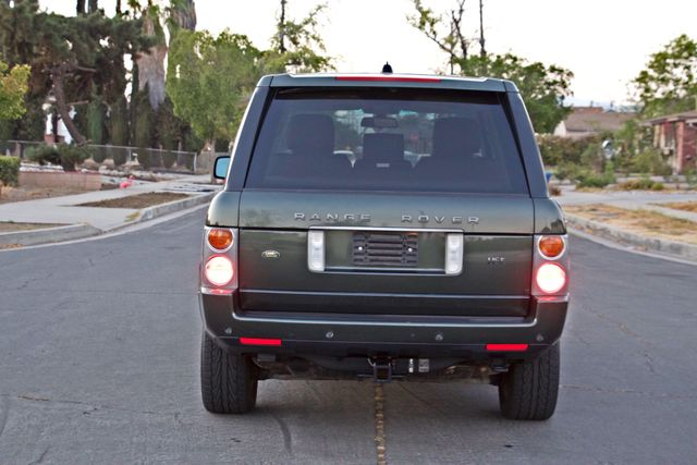 2005 Land Rover RANGE ROVER LUXURY HSE NAVIGATION ONLY 85K MLS SERVICE RECORDS XLNT CONDITION! Woodland Hills, CA 4
