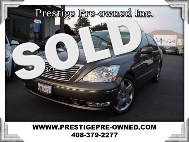 2005 Lexus LS 430 2005 LEXUS LS430 V-8 MODERN LUXURY PACKAGE---LOW 72K MILES---INCREBILE P