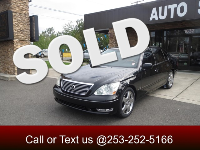 2005 Lexus LS 430 The CARFAX Buy Back Guarantee that comes with this vehicle means that you can bu