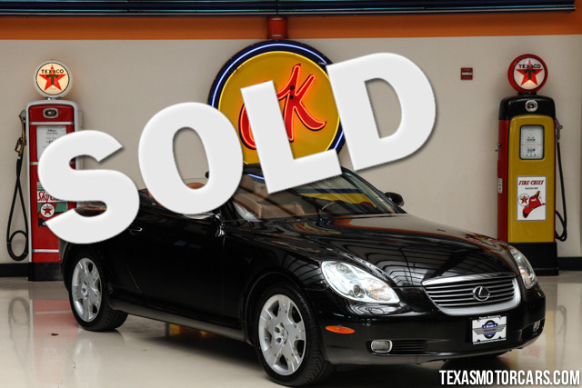 2005 Lexus SC 430 This Clean Carfax accident-free non-smoker 2005 Lexus SC 430 is in great shape