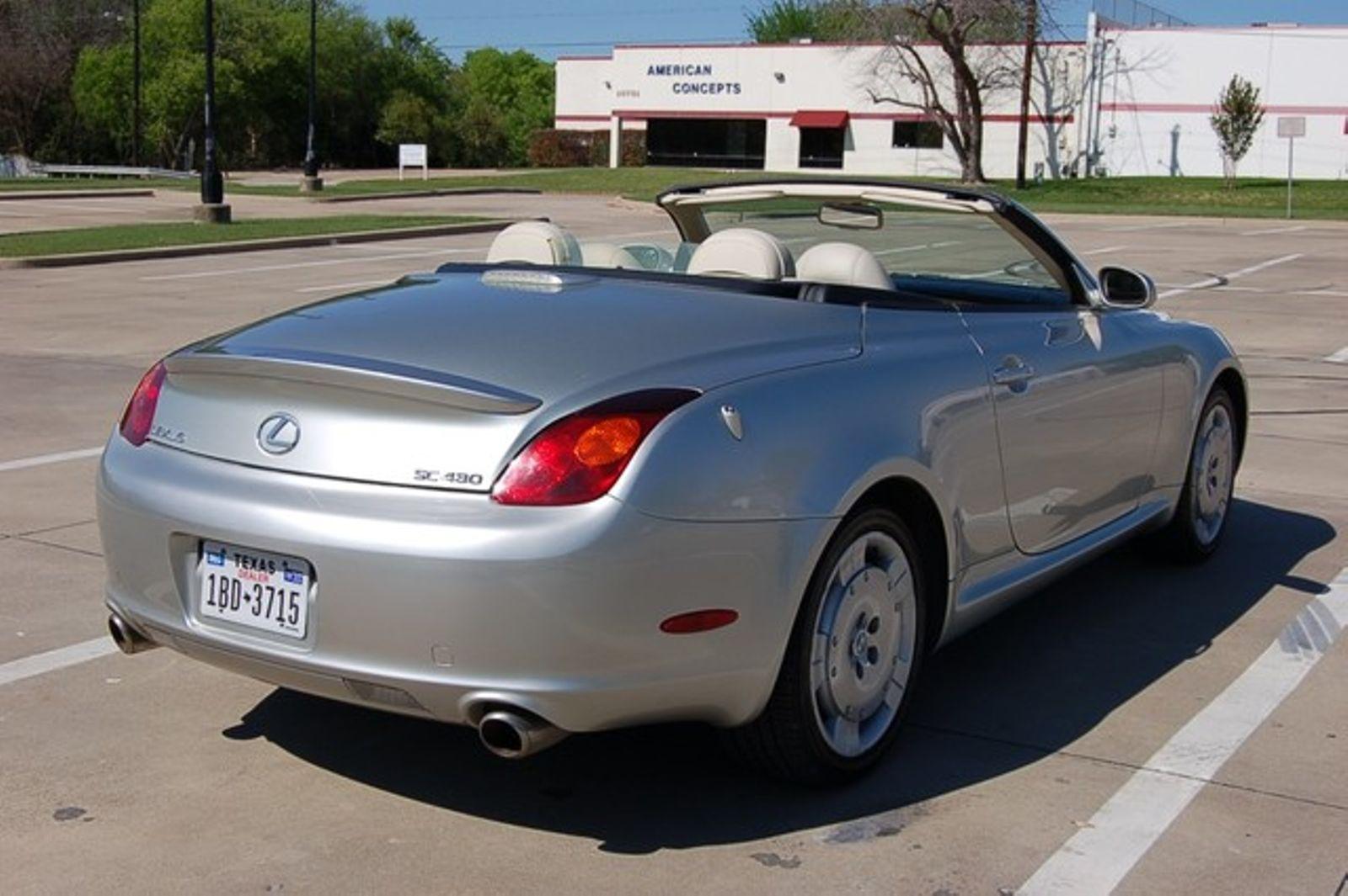 2005 lexus sc 430 low miles garland texas 75040. Black Bedroom Furniture Sets. Home Design Ideas