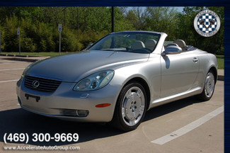 2005 Lexus SC 430 LOW MILES | Garland, Texas | Accelerate Auto Group in Garland