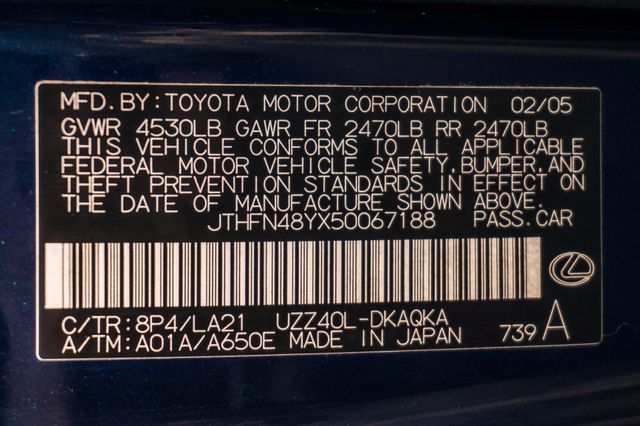 2005 Lexus SC 430 Reseda, CA 39