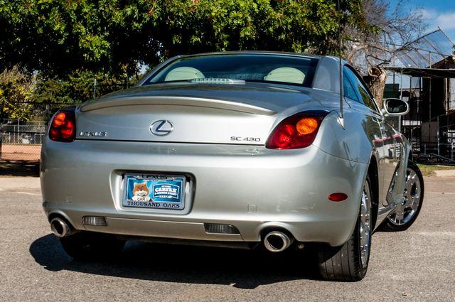 2005 Lexus SC 430  AUTO - 44K MILES - NAVI Reseda, CA 10