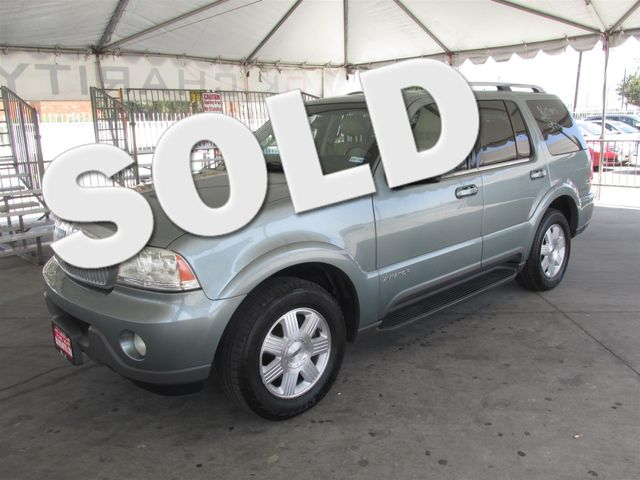 2005 Lincoln Aviator This particular Vehicle comes with 3rd Row Seat Please call or e-mail to che