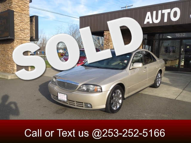 2005 Lincoln LS wSport Pkg The CARFAX Buy Back Guarantee that comes with this vehicle means that