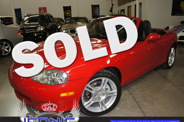 This 2005 Mazda MX-5 Miata LS is a Iconic Motors Featured Car