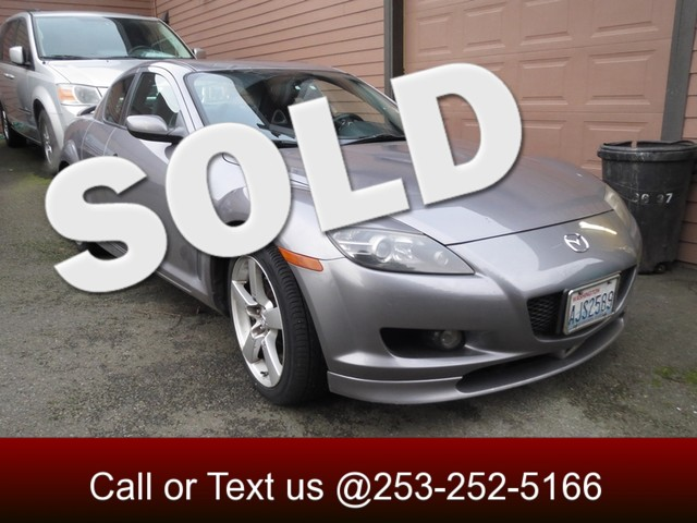 2005 Mazda RX-8 One Owner Rotary Engine Automatic with Paddle Shifters A True Sports Car As you