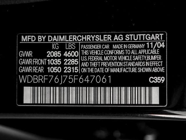 2005 Mercedes-Benz C55 5.5L AMG Burbank, CA 26
