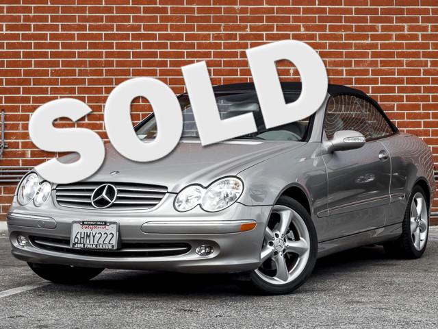 2005 Mercedes-Benz CLK320 3.2L Burbank, CA 0