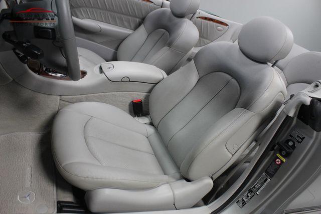 2005 Mercedes-Benz CLK500 5.0L Merrillville, Indiana 11