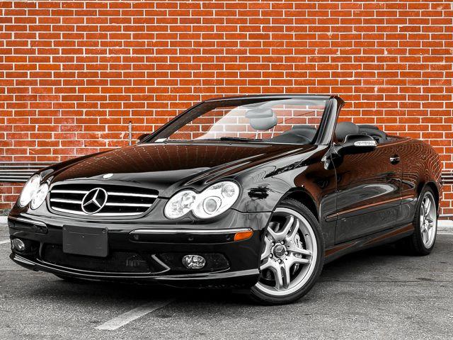 2005 Mercedes-Benz CLK55 AMG Burbank, CA 1