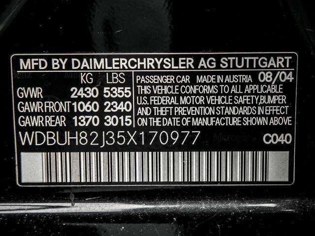 2005 Mercedes-Benz E320 3.2L Burbank, CA 35