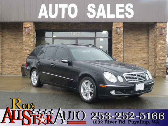 2005 Mercedes E500 50L AWD Some people are robins The person that buys this Mercedes-Benz is Bat