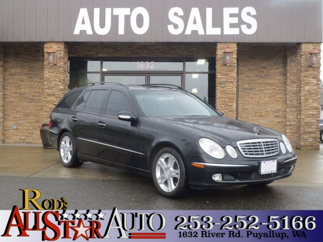 2005 Mercedes E500 50L AWD The CARFAX Buy Back Guarantee that comes with this vehicle means that