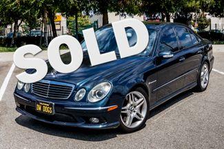 2005 Mercedes-Benz E55 5.5L AMG - NAVI - HTD STS - FULL RECORDS Reseda, CA