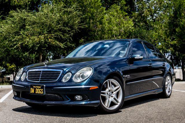 2005 Mercedes-Benz E55 5.5L AMG - NAVI - HTD STS - FULL RECORDS Reseda, CA 1