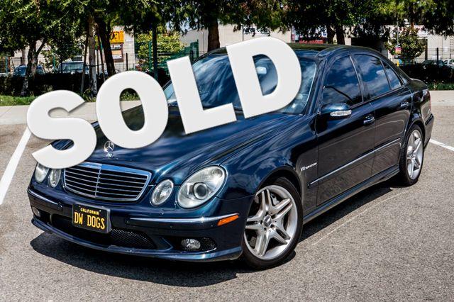 2005 Mercedes-Benz E55 5.5L AMG - NAVI - HTD STS - FULL RECORDS Reseda, CA 0