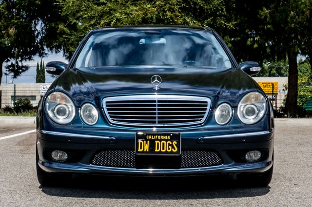 2005 Mercedes-Benz E55 5.5L AMG - NAVI - HTD STS - FULL RECORDS Reseda, CA 2