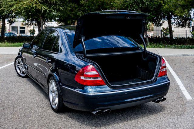 2005 Mercedes-Benz E55 5.5L AMG - NAVI - HTD STS - FULL RECORDS Reseda, CA 9