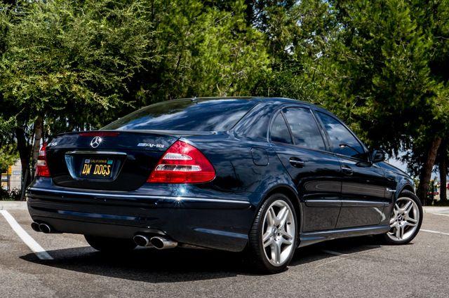 2005 Mercedes-Benz E55 5.5L AMG - NAVI - HTD STS - FULL RECORDS Reseda, CA 8