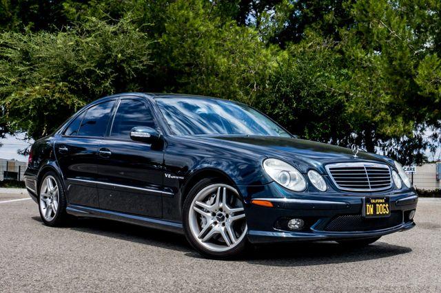 2005 Mercedes-Benz E55 5.5L AMG - NAVI - HTD STS - FULL RECORDS Reseda, CA 3