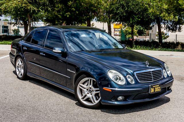 2005 Mercedes-Benz E55 5.5L AMG - NAVI - HTD STS - FULL RECORDS Reseda, CA 43