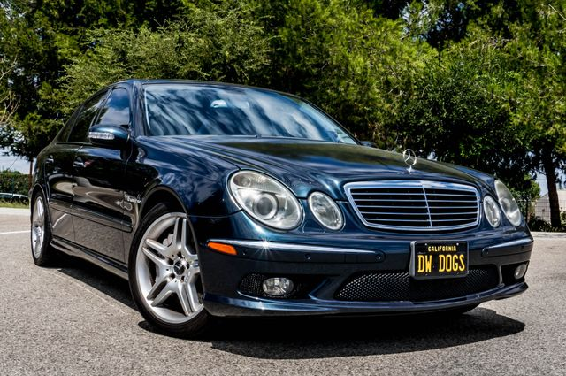 2005 Mercedes-Benz E55 5.5L AMG - NAVI - HTD STS - FULL RECORDS Reseda, CA 44