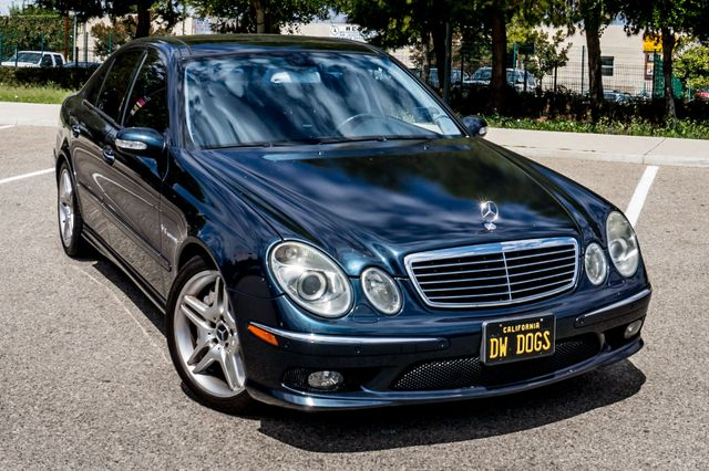 2005 Mercedes-Benz E55 5.5L AMG - NAVI - HTD STS - FULL RECORDS Reseda, CA 42
