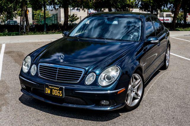 2005 Mercedes-Benz E55 5.5L AMG - NAVI - HTD STS - FULL RECORDS Reseda, CA 41