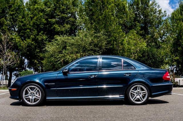 2005 Mercedes-Benz E55 5.5L AMG - NAVI - HTD STS - FULL RECORDS Reseda, CA 4
