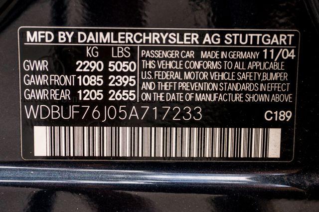 2005 Mercedes-Benz E55 5.5L AMG - NAVI - HTD STS - FULL RECORDS Reseda, CA 39
