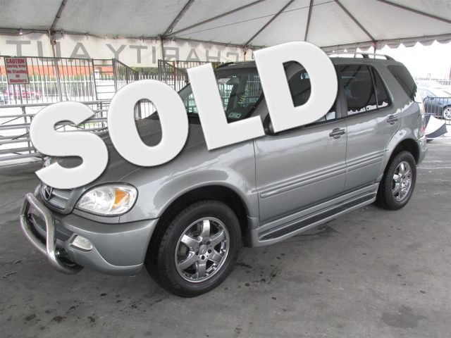 2005 Mercedes ML500 50L This particular Vehicles true mileage is unknown TMU Please call or e