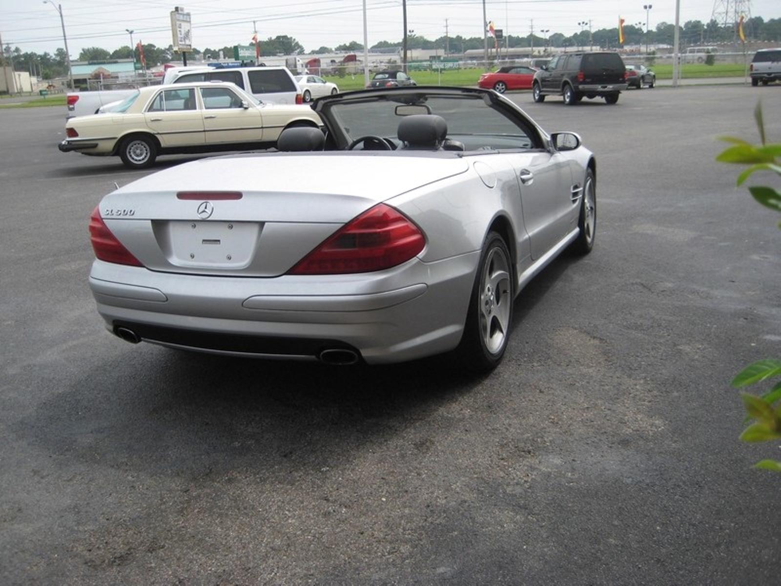 2005 mercedes benz sl500 50l city tennessee peck daniel auto sales in memphis tennessee