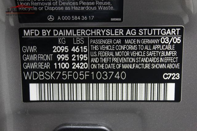 2005 Mercedes-Benz SL500 5.0L Merrillville, Indiana 46