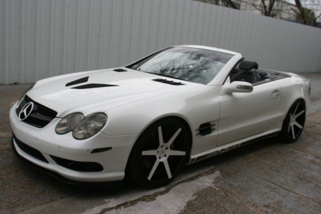 2005 Mercedes-Benz SL55 Custom 5.5L AMG Houston, Texas 21