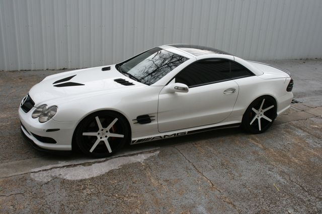 2005 Mercedes-Benz SL55 Custom 5.5L AMG Houston, Texas 4