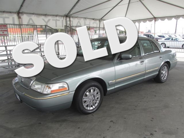 2005 Mercury Grand Marquis GS Please call or e-mail to check availability All of our vehicles a