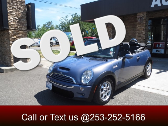 2005 MINI Convertible S The CARFAX Buy Back Guarantee that comes with this vehicle means that you