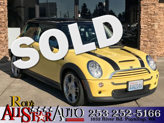 2005 MINI Hardtop S The CARFAX Buy Back Guarantee that comes with this vehicle means that you can