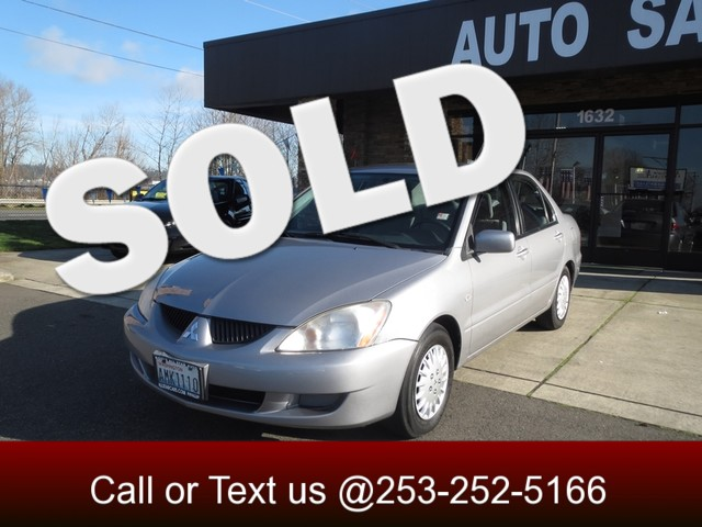 2005 Mitsubishi Lancer ES The CARFAX Buy Back Guarantee that comes with this vehicle means that you