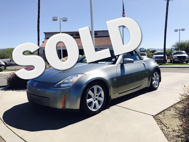2005 Nissan 350Z Touring This is a 2005 Nissan 350Z Touring Silver Exterior Black Leather Interi