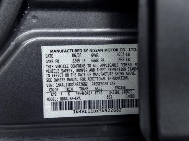2005 Nissan Altima 2.5 S Burbank, CA 17