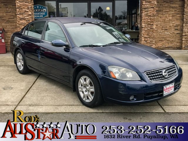 2005 Nissan Altima 25 S The CARFAX Buy Back Guarantee that comes with this vehicle means that you
