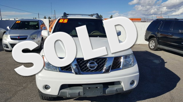 Used Cars in Las Vegas 2005 Nissan Frontier