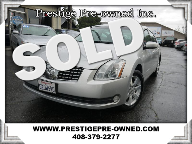 2005 Nissan Maxima 3.5 SL ((**BOSE/NAVIGATION/LEATHER*))  in Campbell CA